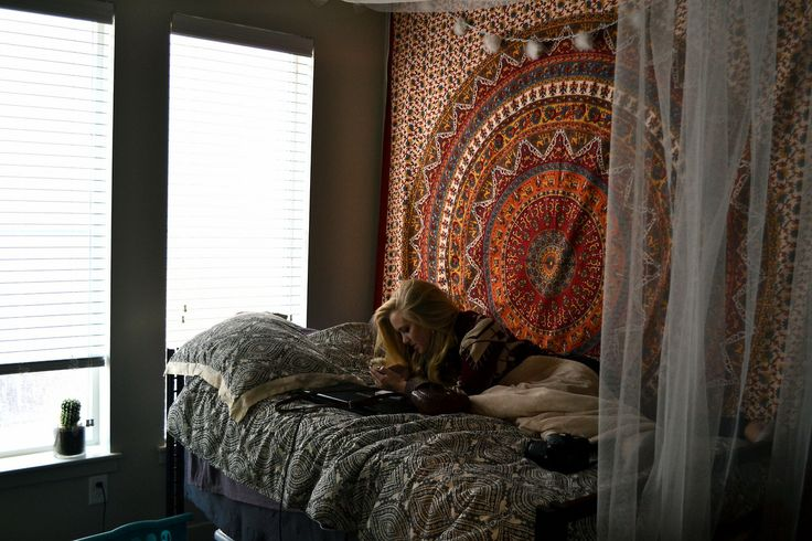 Mandala Tapestry Bedroom Bohemian